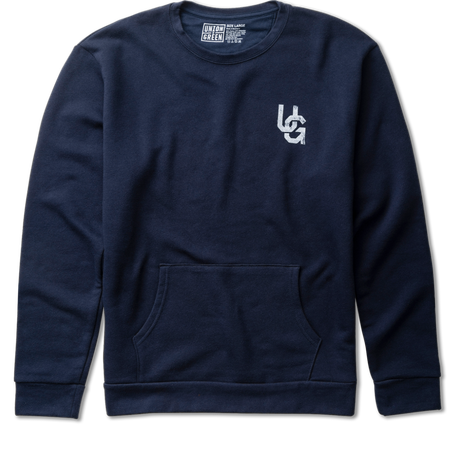 Double Hit Fleece Crewneck Sweatshirt