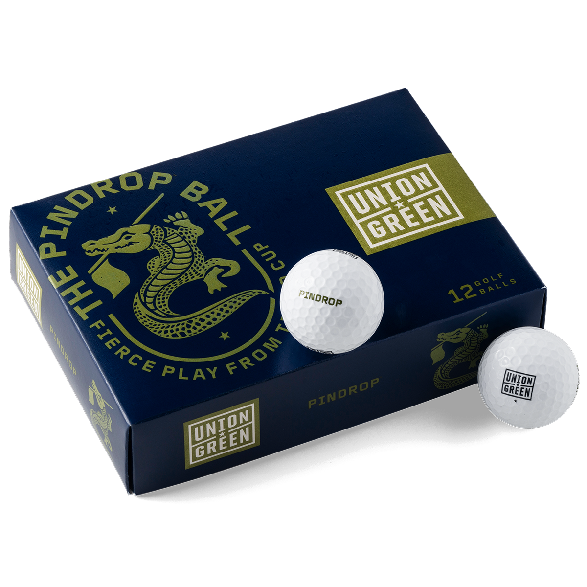 Union Green Pindrop Golf Ball