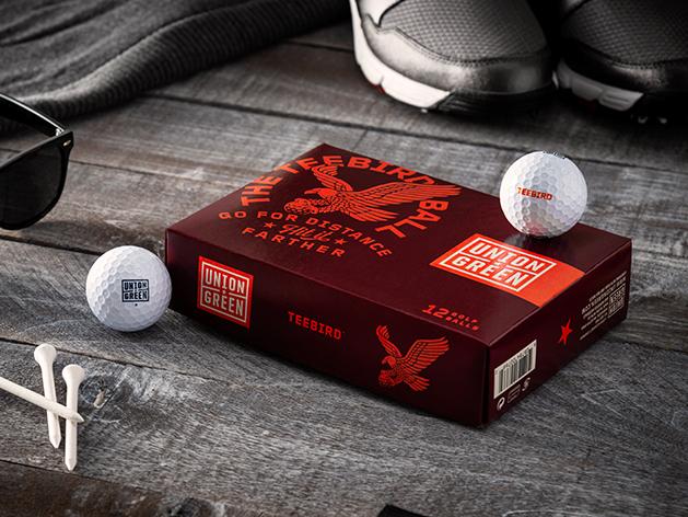 Union Green Teebird Golf Balls