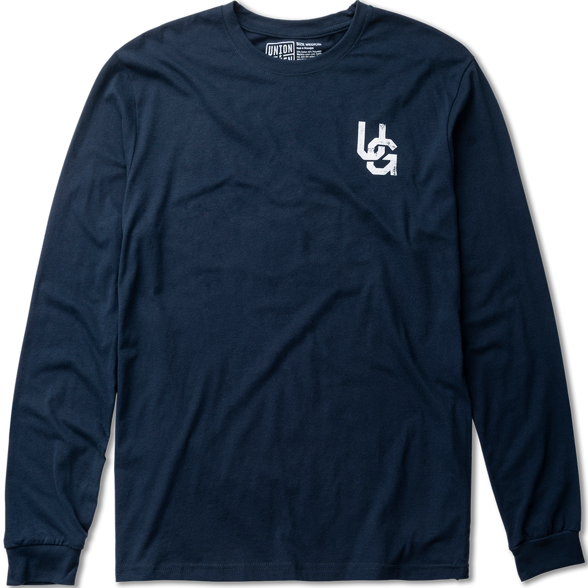 Union Green Double Hit Grit Long Sleeve T-Shirt