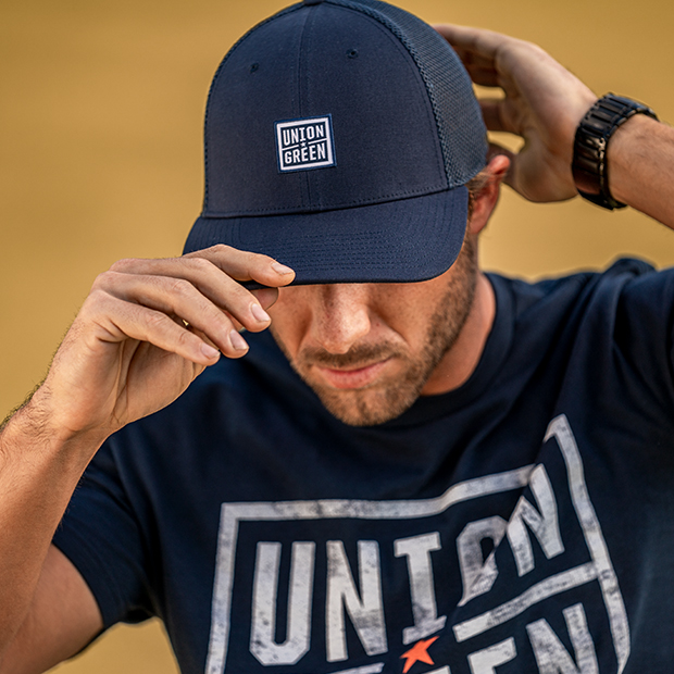 Union Green Wordmark Snapback Hat