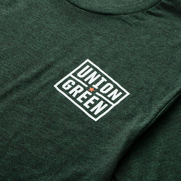 Union Green Double Hit United T-Shirt in Green
