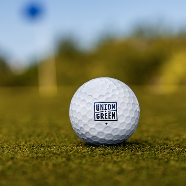 Union Green Golf Ball
