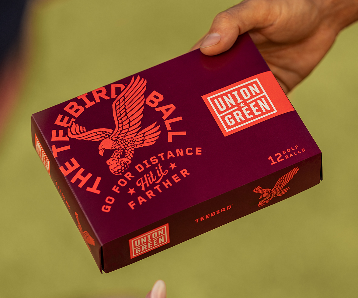 Union Green Teebird Golf Balls